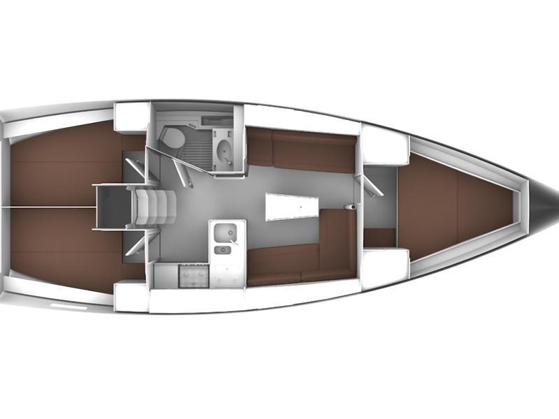 Bavaria Cruiser 37 (Bav Cr 37) Plan image - 1