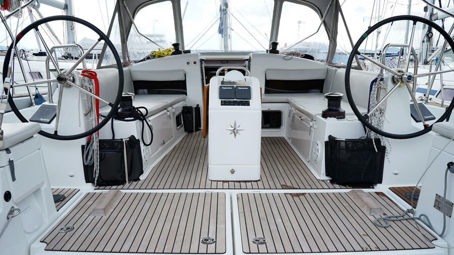 Sun Odyssey 440 - 3 Cabins (White Marlin)  - 20
