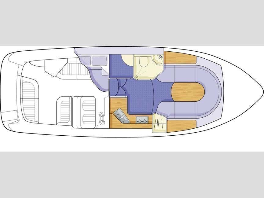 Sealine S 28 (Kristiano) Plan image - 1