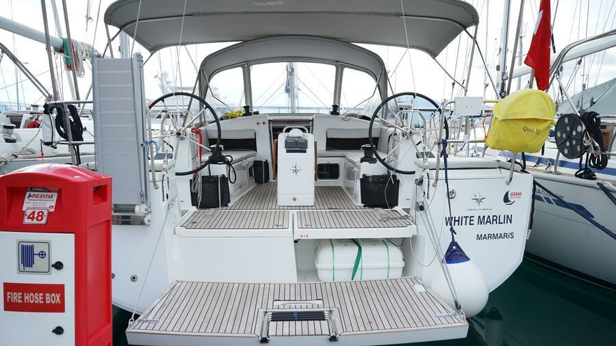 Sun Odyssey 440 - 3 Cabins (White Marlin)  - 11
