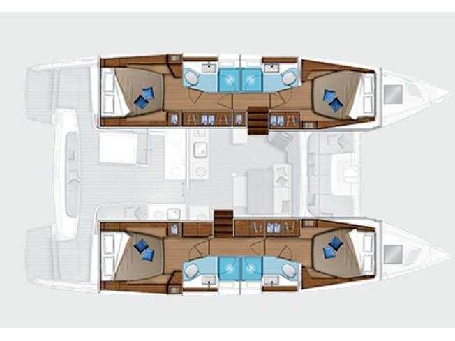 Lagoon 46 (Barone) Plan image - 2