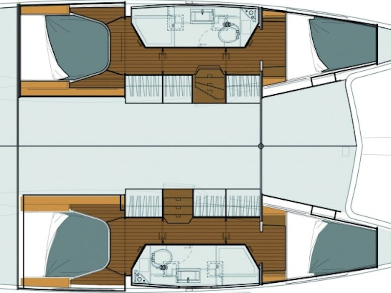 Fountaine Pajot Lucia 40 (PEARL) Plan image - 1