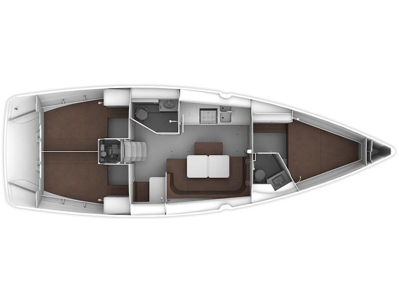 Bavaria 41 Cruiser (Kaly) Plan image - 2