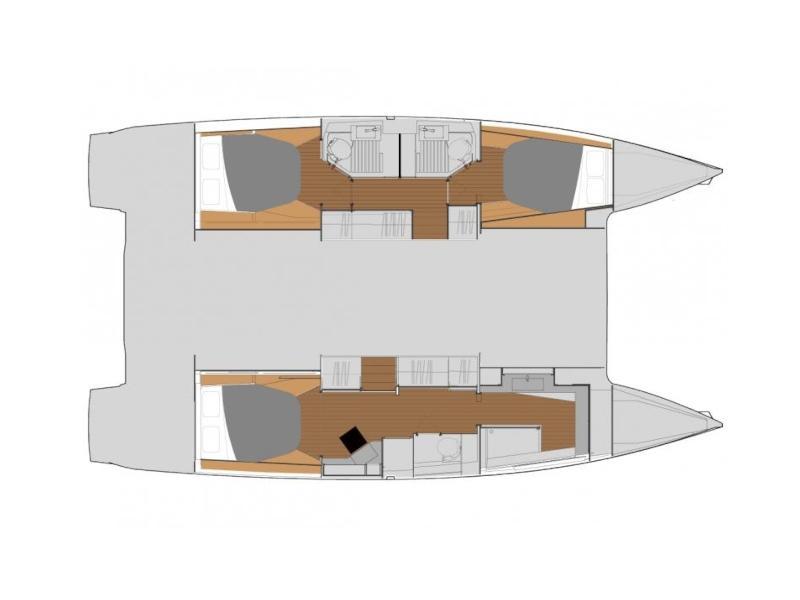 Astréa 42 Maestro (PRES- A42-20-G) Plan image - 1