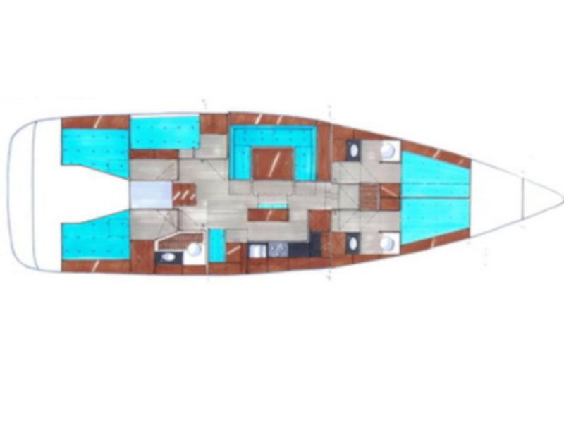 Bavaria 55 Cruiser (Vega) Plan image - 1