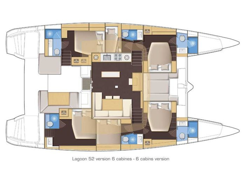 Lagoon 450 (Azibi) Plan image - 1