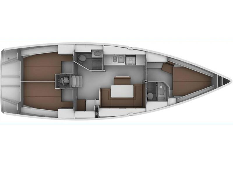 Bavaria 40 Cruiser S (wilson) Plan image - 1
