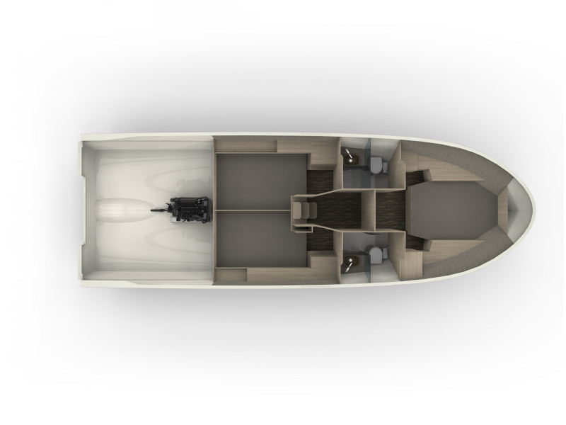 Northman 1200 Elegance Flybridge (ELEGANCE FLYBRIDGE) Plan image - 5