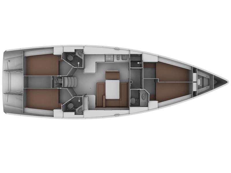 Bavaria 45 Cruiser (Iguazu) Plan image - 1