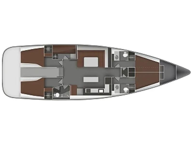 Bavaria 55 Cruiser (Little Secret) Plan image - 1