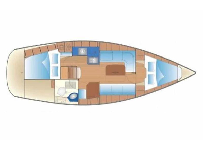 Bavaria 34 Cruiser (Kat34) Plan image - 2