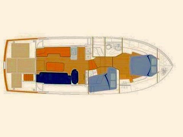 Swift Trawler 42 (Skitnica) Plan image - 1