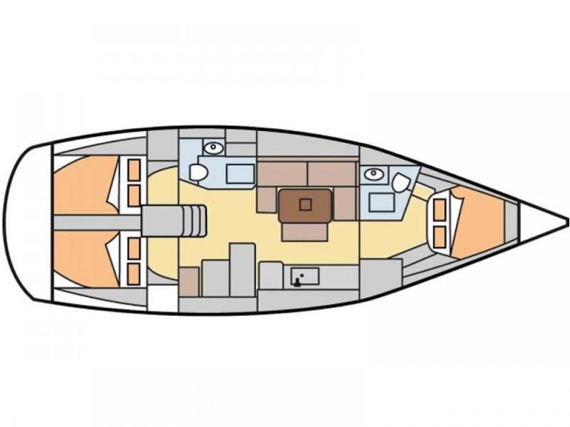 Lagoon 450 Sport (Klein) Plan image - 2