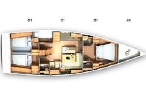 Hanse 505 (Wrungel) Plan image - 2