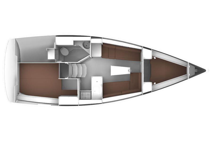 BAVARIA C 33  (CHIARA) Plan image - 11