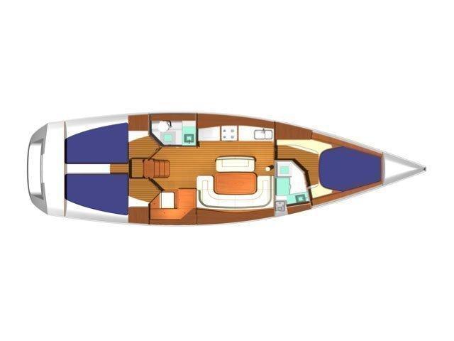 Dufour 425 (Surprise) Plan image - 4