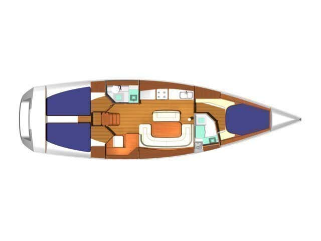 Dufour 425 (Hook) Plan image - 5