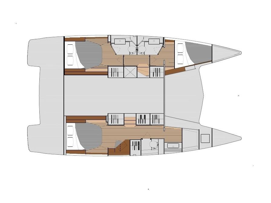 Isla 40 (ISLAND ESCAPE - AC and generator) Plan image - 8