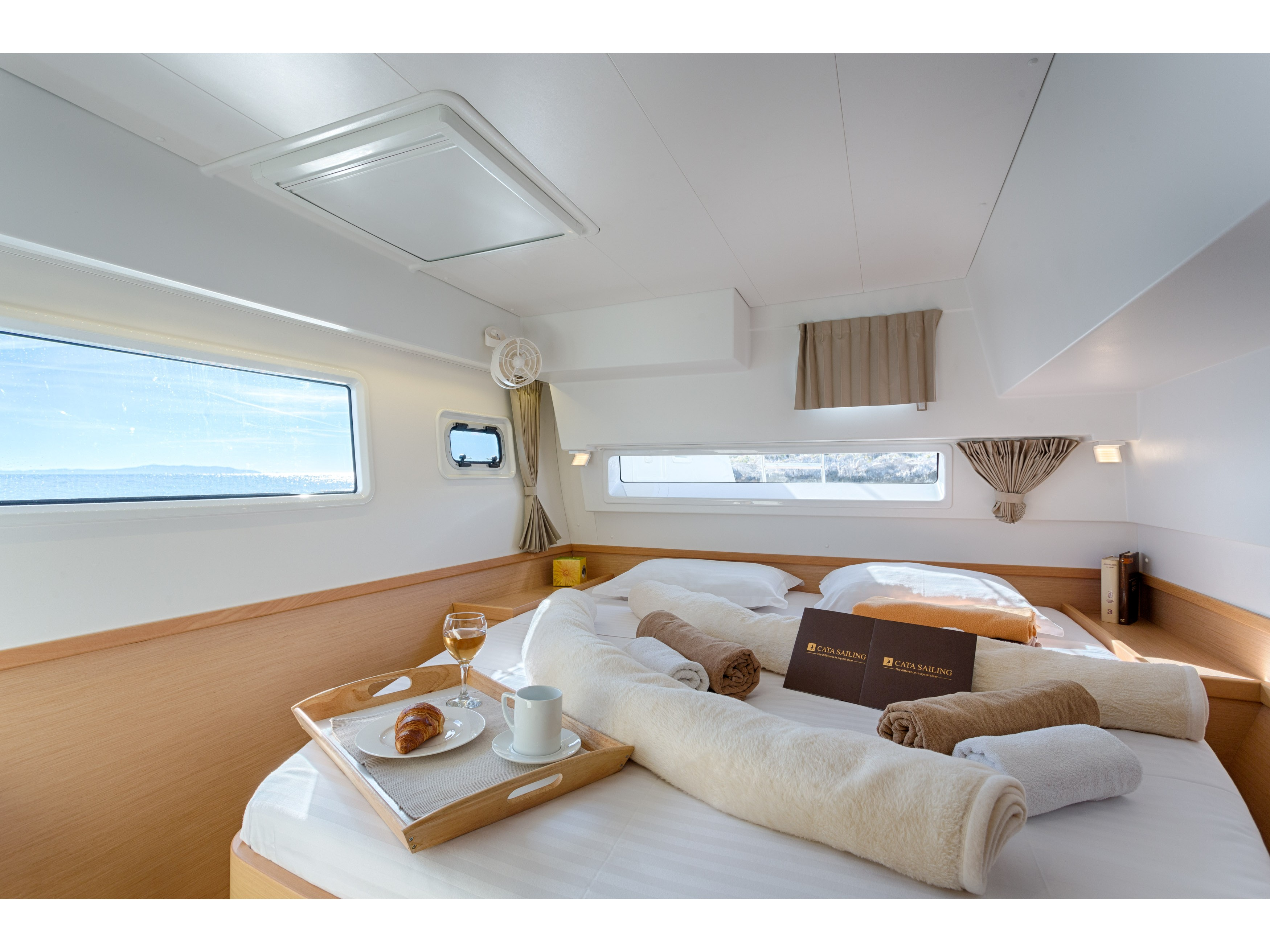 Lagoon 42 (BRIGHT SKY feat. Water Maker, A/C and Generator) Interior image - 1