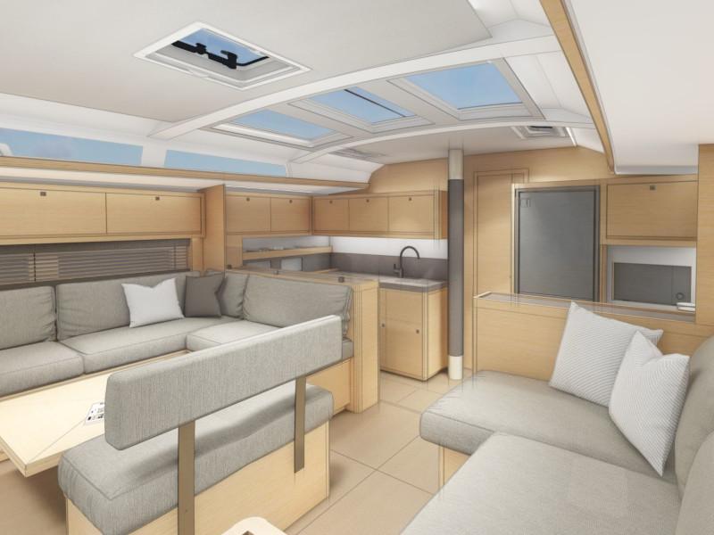 Dufour 530 (Gringott) Interior image - 1