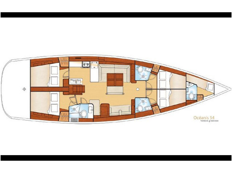 Beneteau 54 (Mambo) Plan image - 6