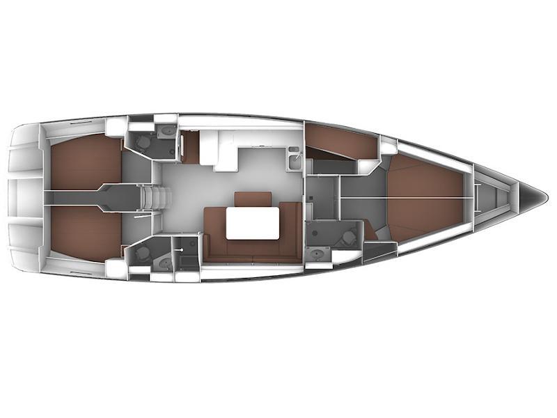 Bavaria Cruiser 51 (Sveti Ante) Plan image - 1