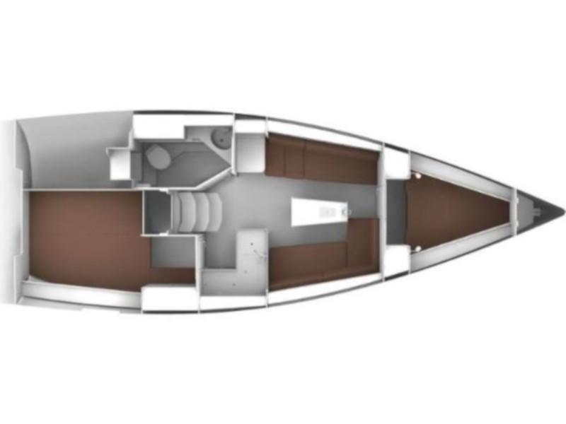 Bavaria Cruiser 34 (Tintilinić) Plan image - 5