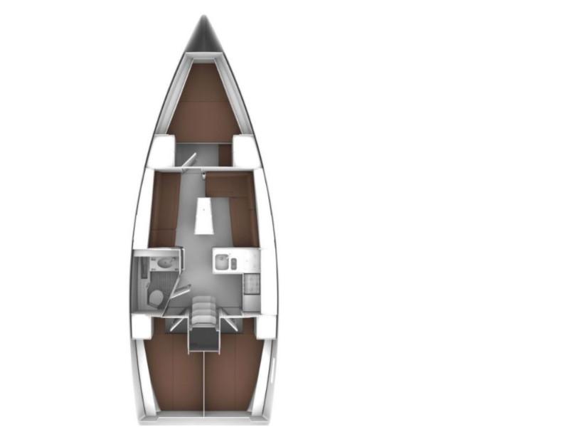 Bavaria Cruiser 37  (Levant) Plan image - 3
