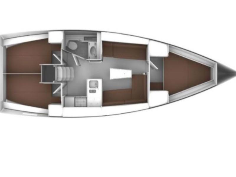 Bavaria Cruiser 37  (Lahor) Plan image - 5