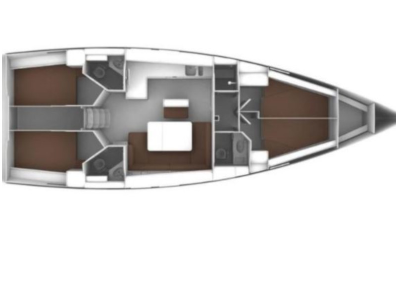 Bavaria Cruiser 46  (Rava) Plan image - 3