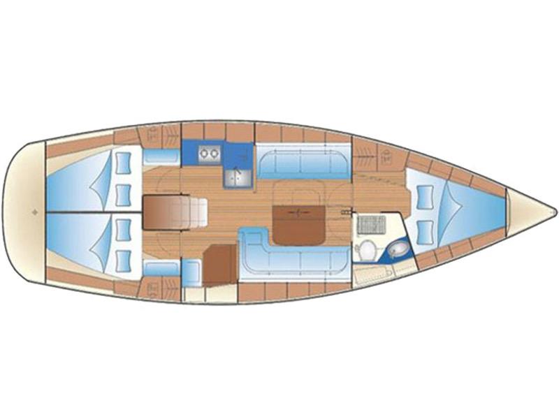 Bavaria 37 Cruiser (Alkmini) Plan image - 2