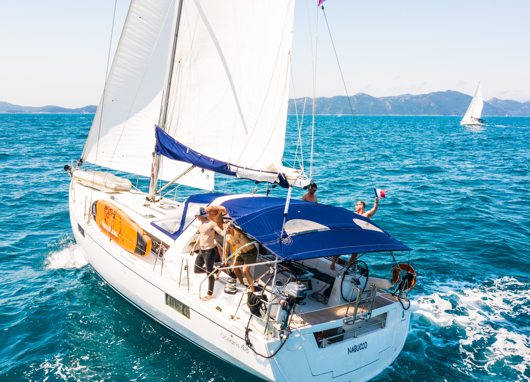 Oceanis 48 (Nabucco. Private Charter (8 pax) FULLY CREWED, ALL EXPENSES INCLUDED)  - 6