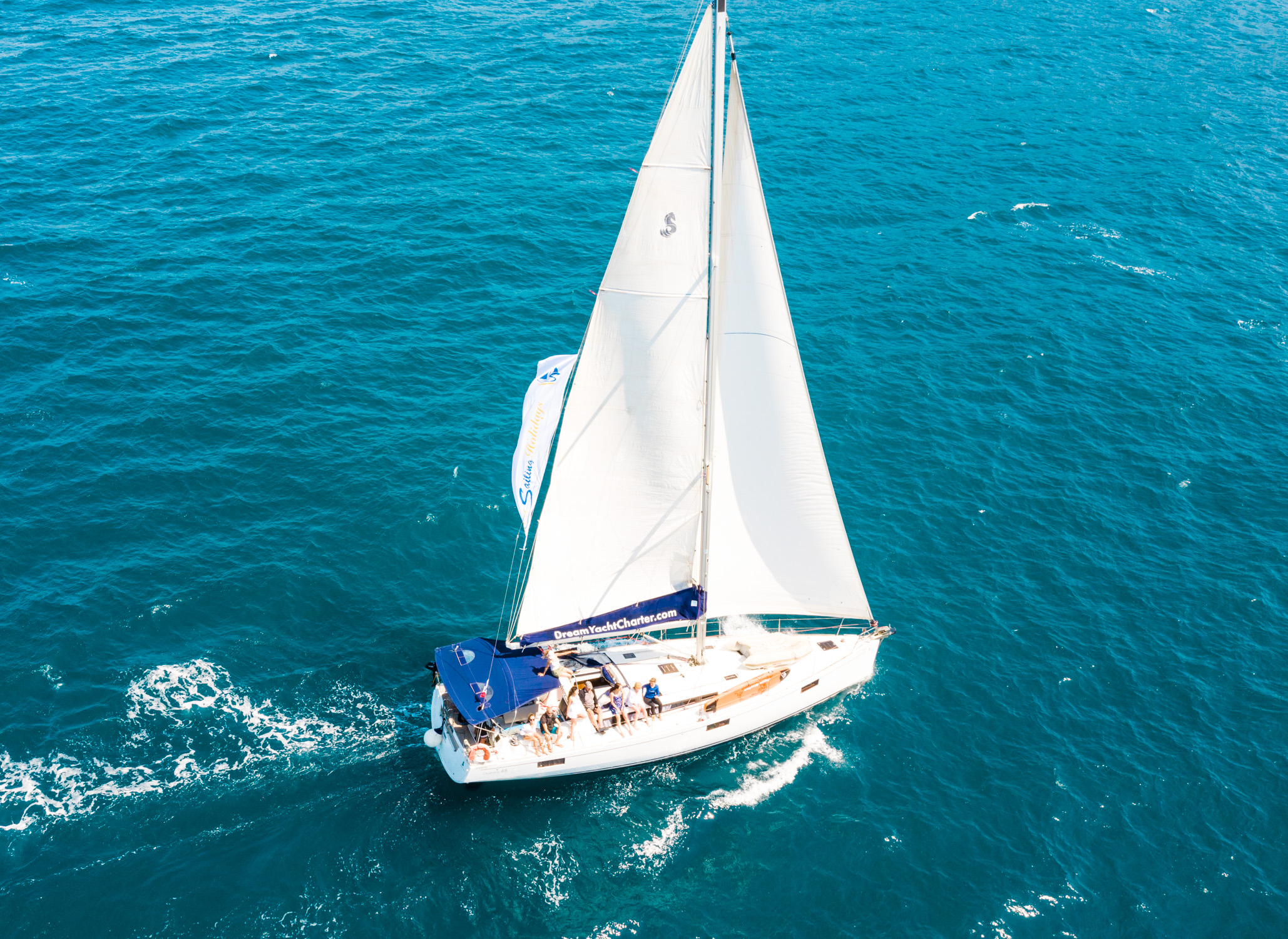 Oceanis 48 (Nabucco. Private Charter (8 pax) FULLY CREWED, ALL EXPENSES INCLUDED)  - 4