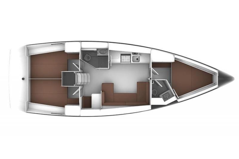 Bavaria Cruiser 41 (Ružica) Plan image - 11