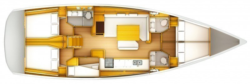 Sun Odyssey 509 (Rock Point) Plan image - 14