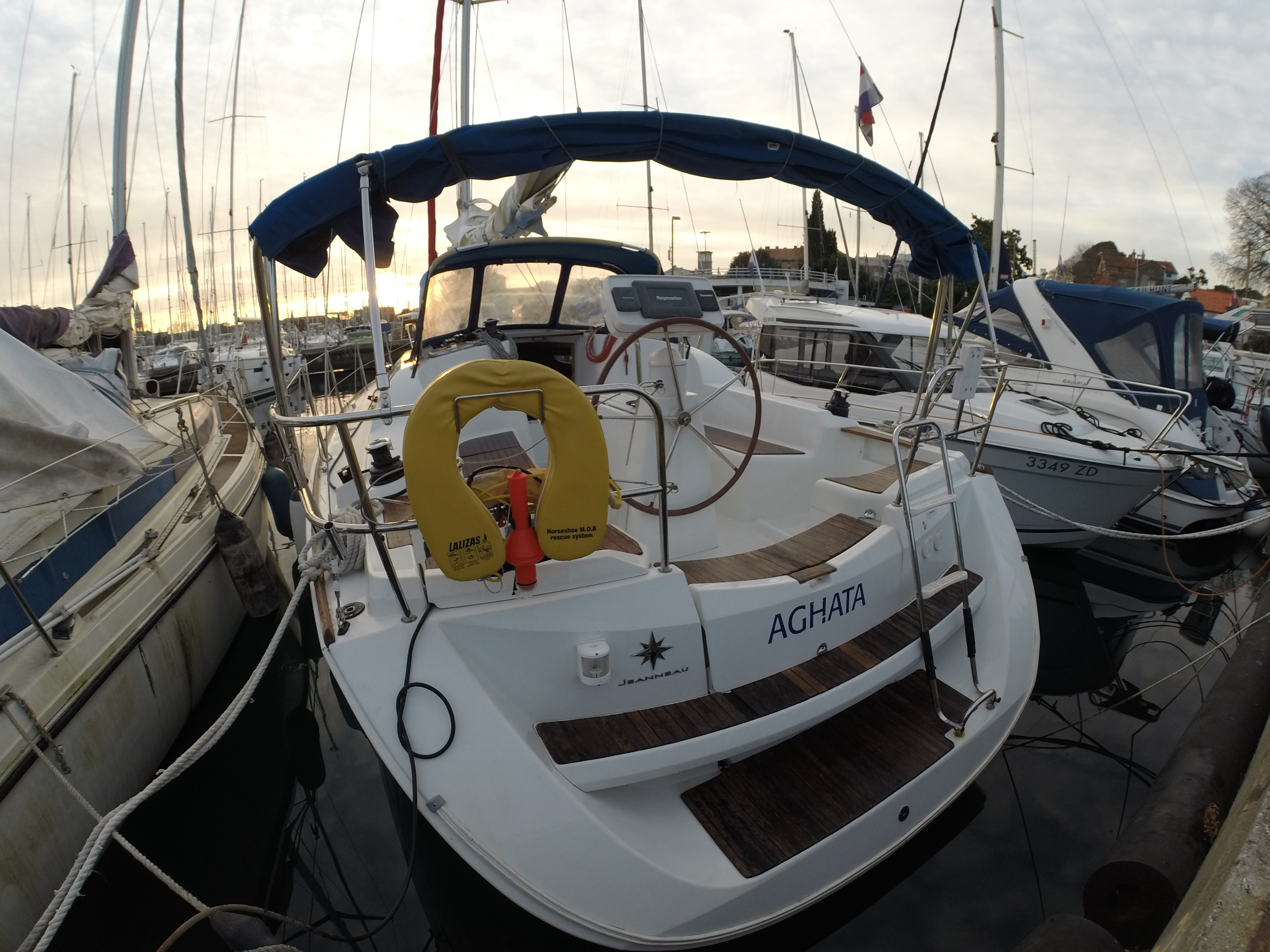 Sun Odyssey 36i (Agatha )  - 8