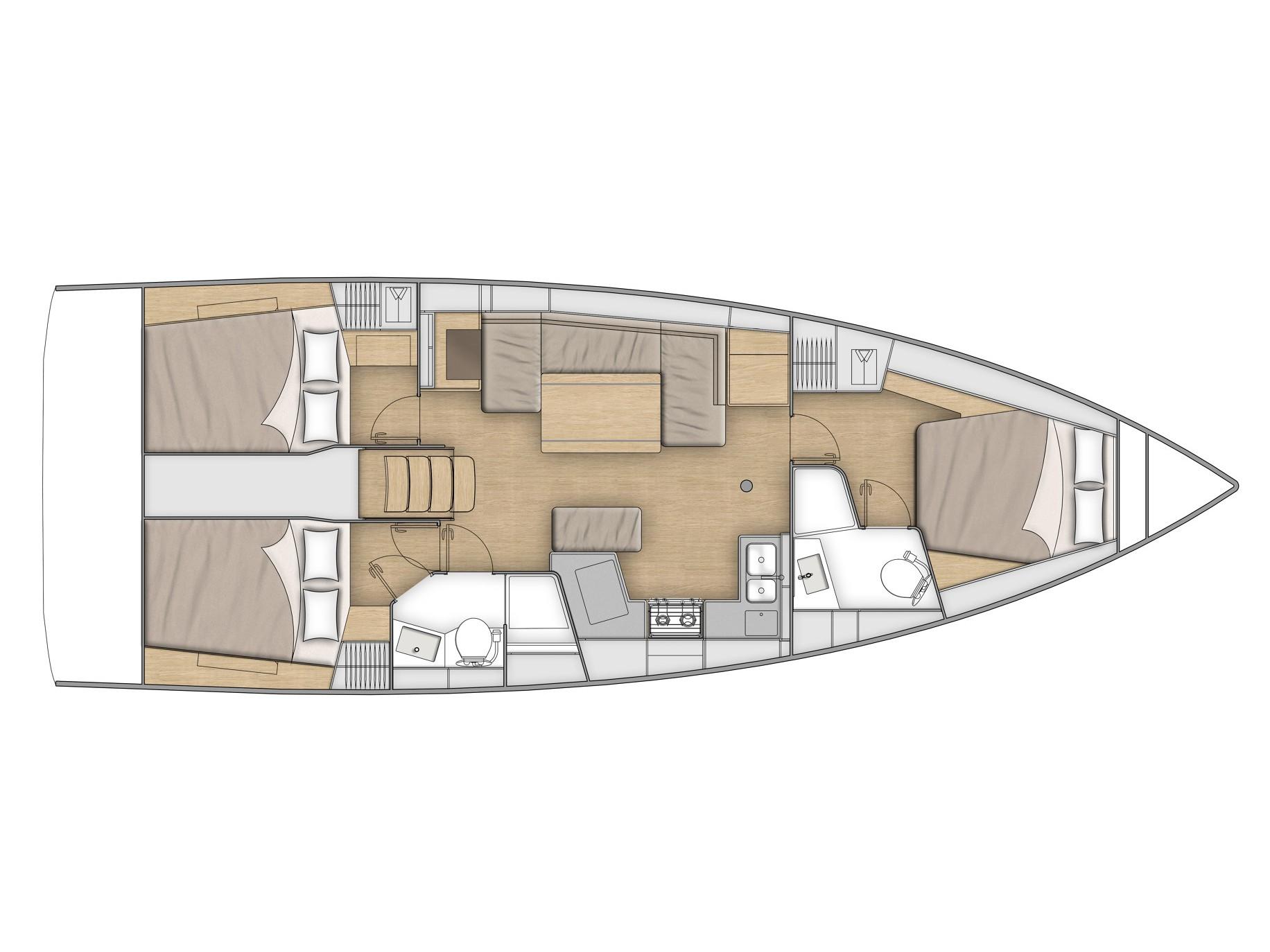 Oceanis 40.1 (KEIKI) Plan image - 6