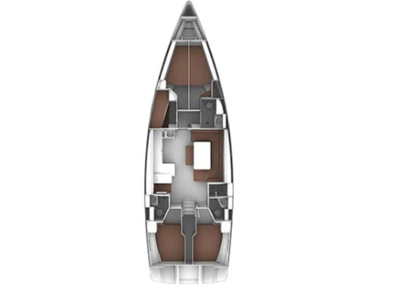 Bavaria Cruiser 51 (Marzia ) Plan image - 4