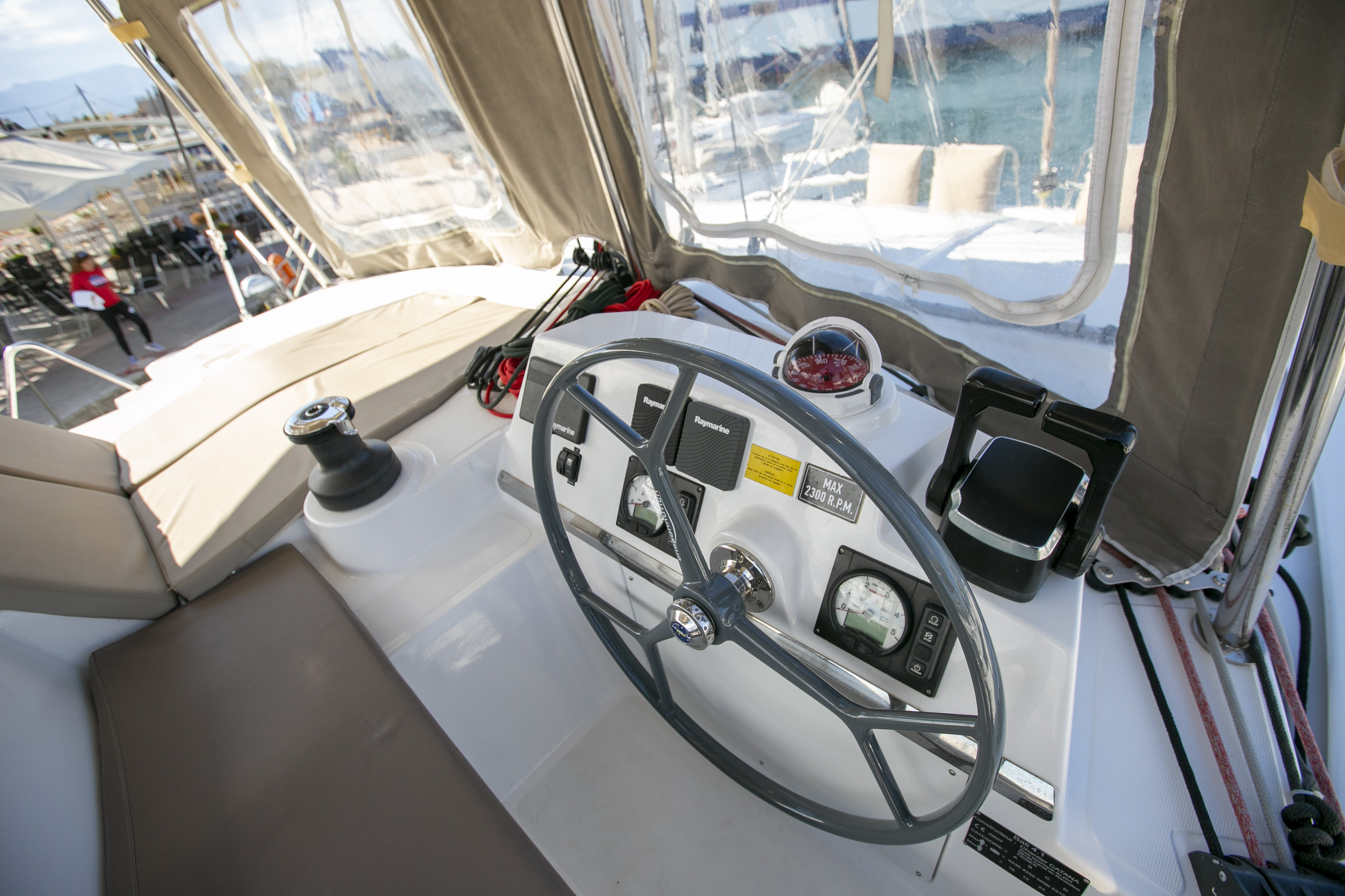 Bali 4.1 (North Cat II / with air-condition, generator & watermaker)  - 12