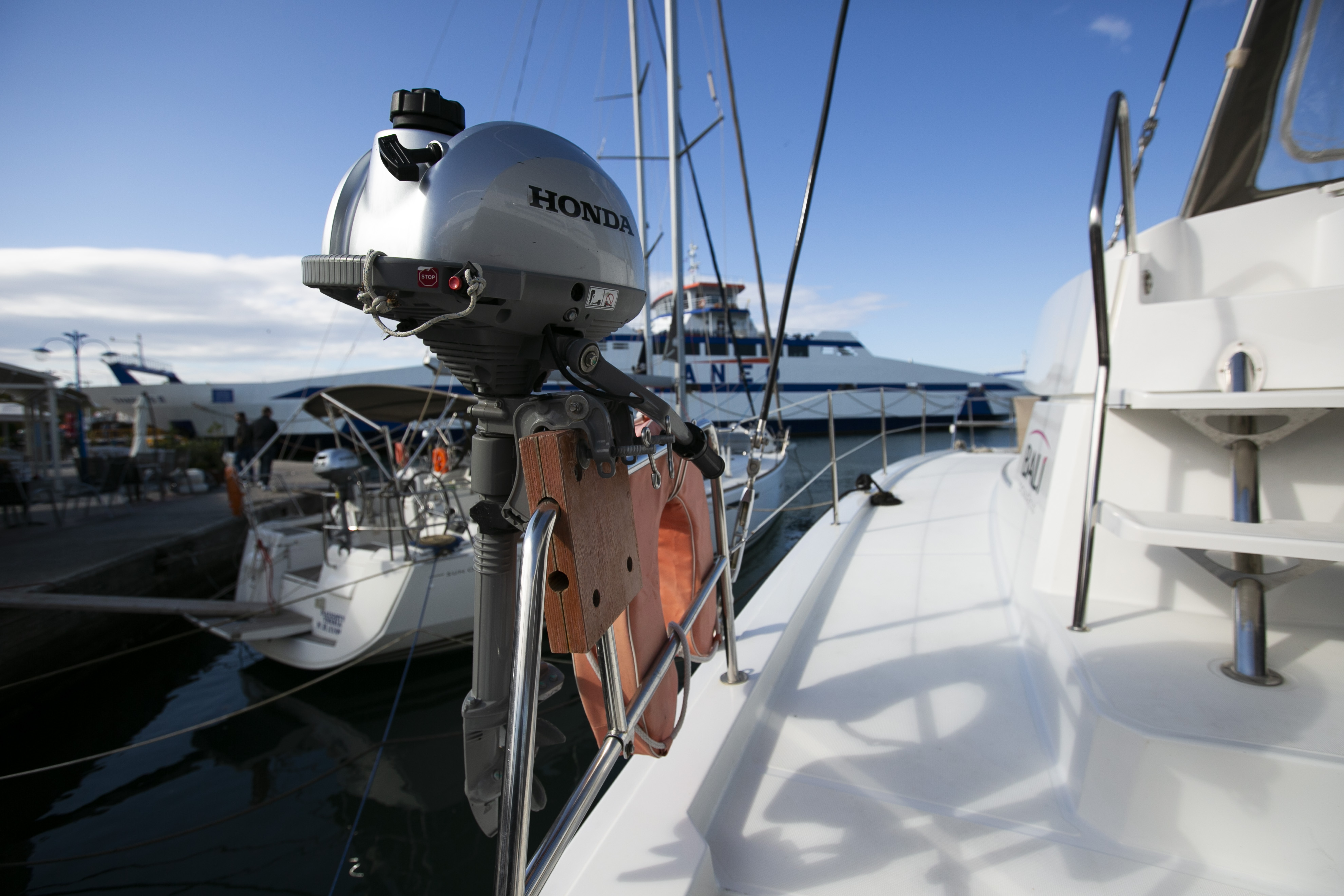 Bali 4.1 (North Cat II / with air-condition, generator & watermaker)  - 18