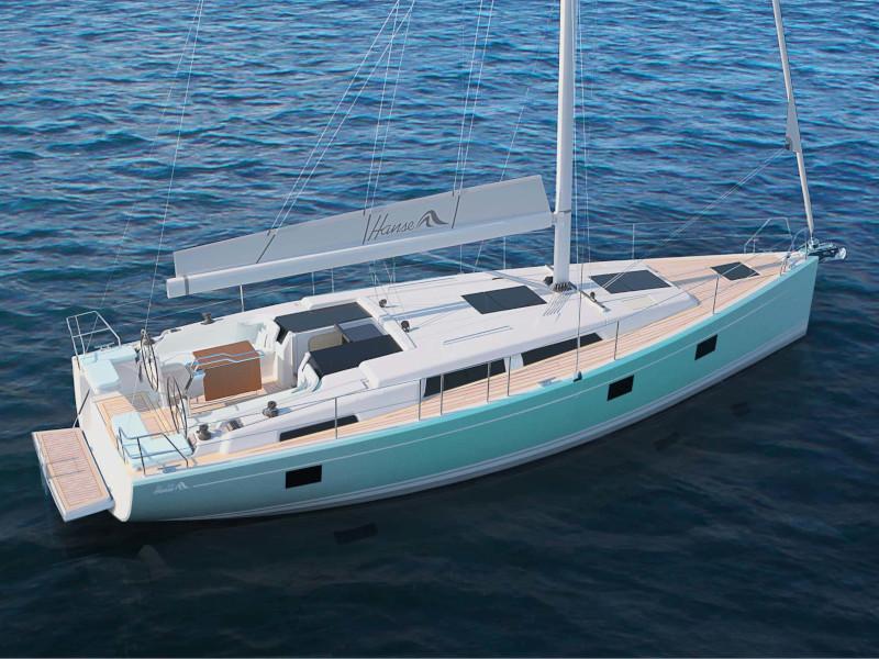 Hanse 418 (Polynoe)  - 4