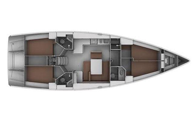Bavaria 45 Cruiser (Ptitza (!!!from Monday))  - 1