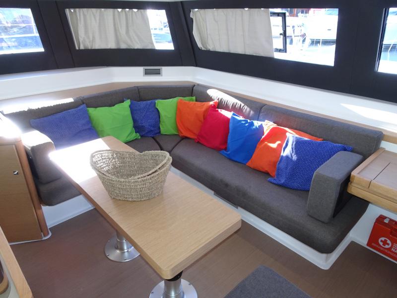 Dufour 48 Catamaran (YAM - BLUE HULL, AC+GEN., UNDERWATER LIGHTS) Interior image - 16