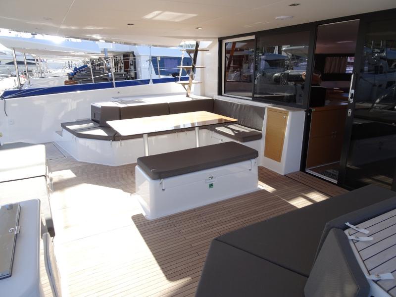 Dufour 48 Catamaran (YAM - BLUE HULL, AC+GEN., UNDERWATER LIGHTS)  - 36