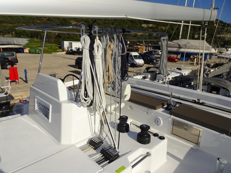 Dufour 48 Catamaran (YAM - BLUE HULL, AC+GEN., UNDERWATER LIGHTS)  - 49
