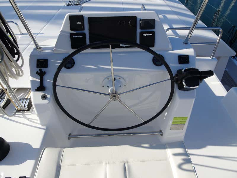 Dufour 48 Catamaran (YAM - BLUE HULL, AC+GEN., UNDERWATER LIGHTS)  - 64
