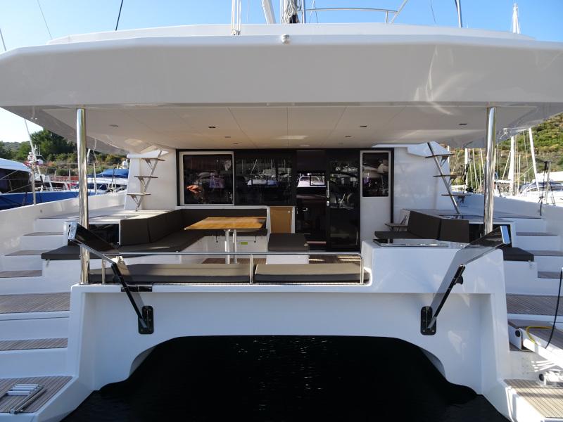 Dufour 48 Catamaran (YAM - BLUE HULL, AC+GEN., UNDERWATER LIGHTS)  - 61