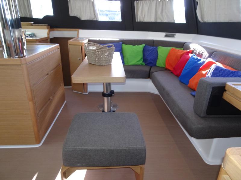 Dufour 48 Catamaran (YAM - BLUE HULL, AC+GEN., UNDERWATER LIGHTS)  - 1
