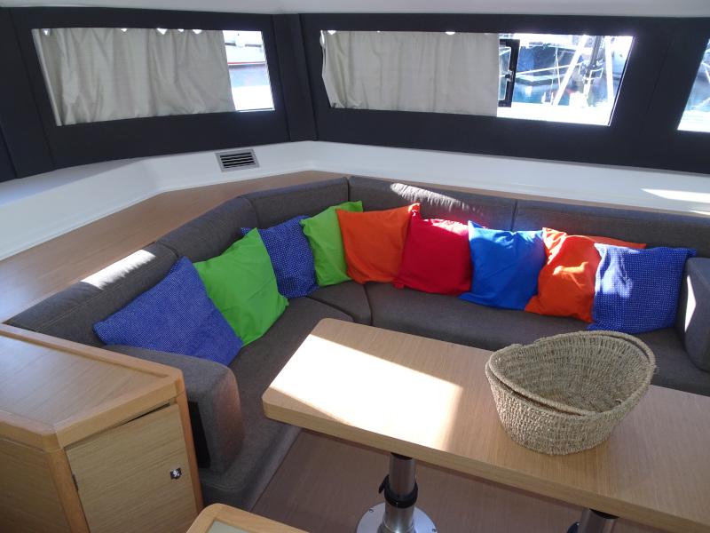 Dufour 48 Catamaran (YAM - BLUE HULL, AC+GEN., UNDERWATER LIGHTS)  - 23
