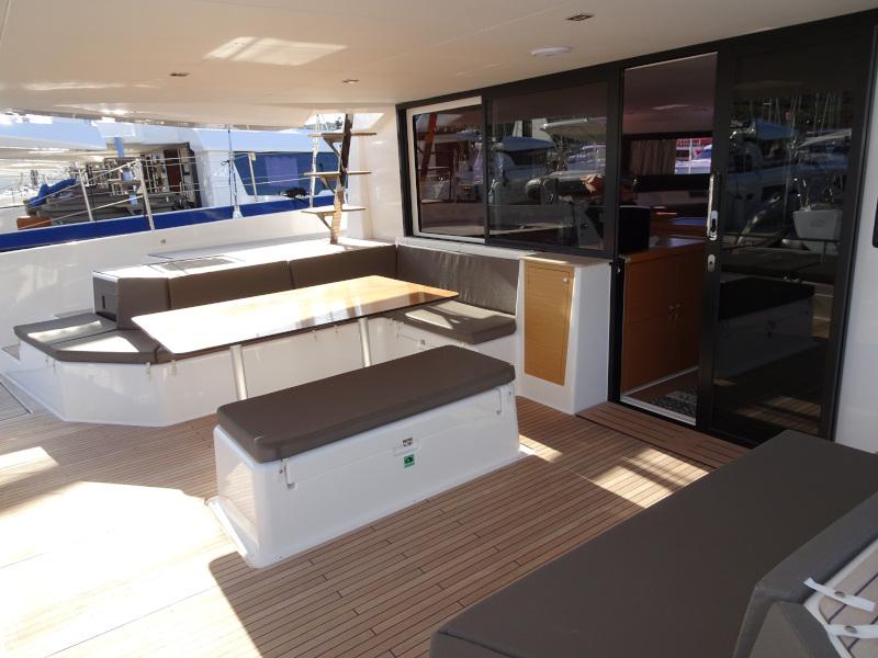 Dufour 48 Catamaran (SHU - BLUE HULL, AC+GEN., UNDERWATER LIGHTS)  - 50